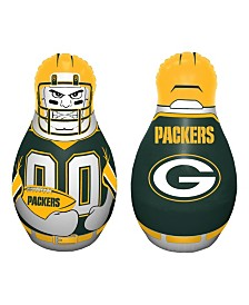 Fremont Die NFL Green Bay Packers Tackle Buddy Inflatable Punching Bag