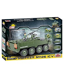 Small Army Stryker M1126 Infantry Carrier Vehicle 485 Piece Construction Blocks Building Kit