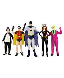 NJ Croce DC Comics Batman 1966 Bendable Figure Set