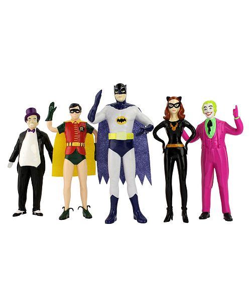 DC Comics NJ Croce Batman 1966 Bendable Figure Set
