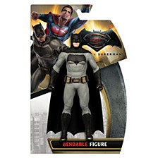 NJ Croce Batman VS. Superman Batman Bendable Figure