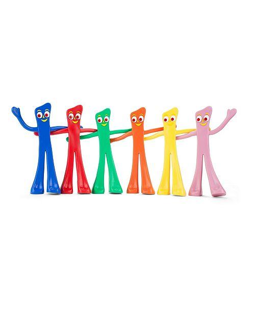 Gumby NJ Croce Many Moods Bendable Figures Set