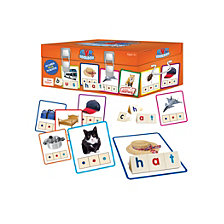 Junior Learning CVC Toolbox Educational Learning Game