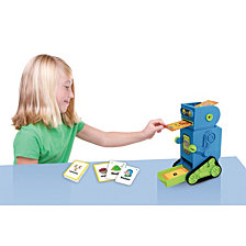 Junior Learning Flashbot Flash Card Robot Includes 20 Demonstration Flash Cards