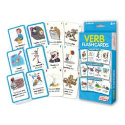 Junior Learning Verb Flashcards