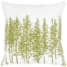 """18"""" x 18"""" Trees in a Line Pillow Cover"""