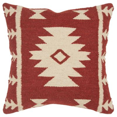 """18"""" x 18"""" Stripes with Motif Accents Pillow Cover"""
