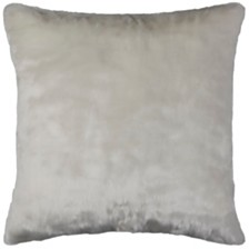 "Rizzy Home 20"" x 20"" Faux Fur Down Filled Pillow"