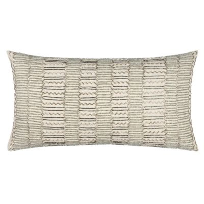 """11"""" x 21"""" Striped Down Filled Pillow"""