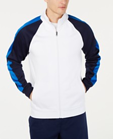Club Room Men's Raglan Track Jacket, Created for Macy's