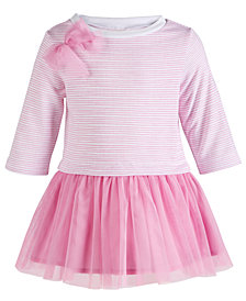 First Impressions Baby Girls Striped Tutu Dress, Created for Macy's