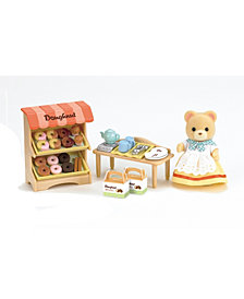 Calico Critters Doughnut Store with Carol Cuddle Bear