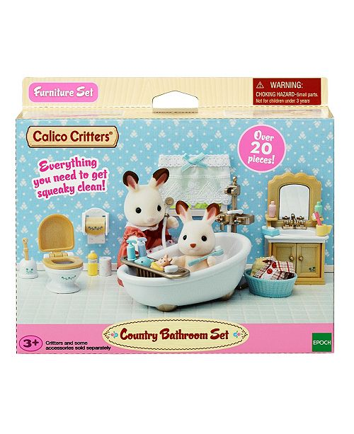 Calico Critters Country Bathroom Amp Reviews Home Macy S