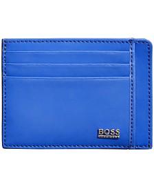 Hugo Boss Men's Matte Leather Cardholder