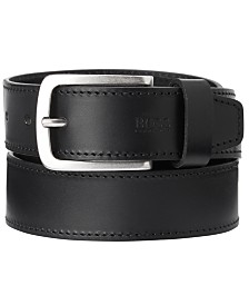 HUGO Men's Jor Casual Leather Belt