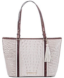 Brahmin Medium Asher Seashell Brando Tote