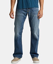 Silver Jeans Co. Men's Zac Relaxed Straight-Fit Jeans