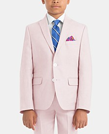 Little Boys Linen Suit Jacket