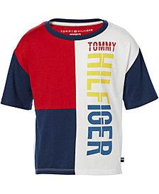 Tommy Hilfiger Big Girls Colorblocked T-Shirt
