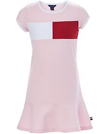 Tommy Hilfiger Toddler Girls Logo Flag Dress