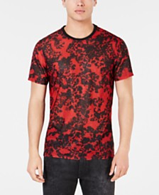 GUESS Men's Space Canvas T-Shirt