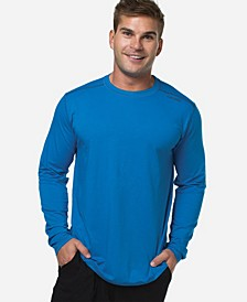 Men's Activewear Viscose from Bamboo Long-Sleeve Shirt