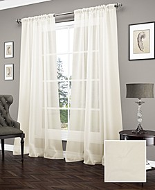 Carrington 52'' x 84'' Sheer Window Curtain Panel