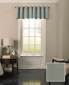 Beautyrest 52'' x 18'' Malbrouk Blackout Grommet Window Valance