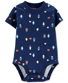 Carter's Baby Boys Cotton Robot Bodysuit