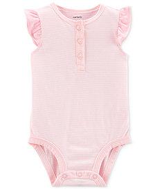 Carter's Baby Girls Cotton Striped Bodysuit