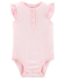 Carter's Baby Girls Cotton Striped Bodysuit