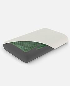 Carihola Gel Top Charcoal Memory Foam Medium Density Standard Pillow