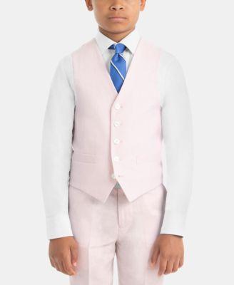 Little Boys Linen Vest