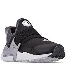 outlet store fcdff cb2b8 Nike Boys  Huarache Extreme SE Just Do It Running Sneakers from Finish Line