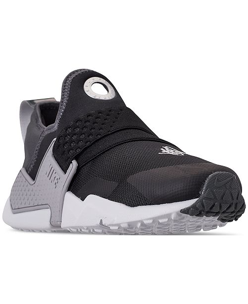 1483e7c8478cc ... Nike Boys  Huarache Extreme SE Just Do It Running Sneakers from Finish  ...