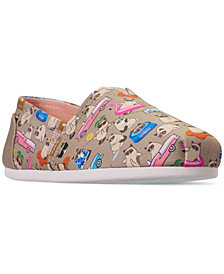 Skechers Women's Bobs Plush - Grumpy Vacay Bobs for Dogs and Cats Casual Slip-On Flats from Finish Line