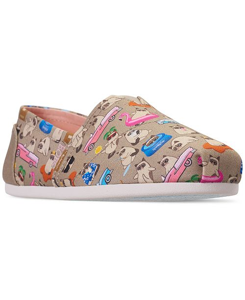 83cd83cc7ff3 ... Skechers Women s Bobs Plush - Grumpy Vacay Bobs for Dogs and Cats  Casual Slip-On ...