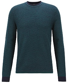 BOSS Men's Micro-Structured Sweater