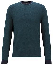 BOSS Men's Micro-Structured Sweater
