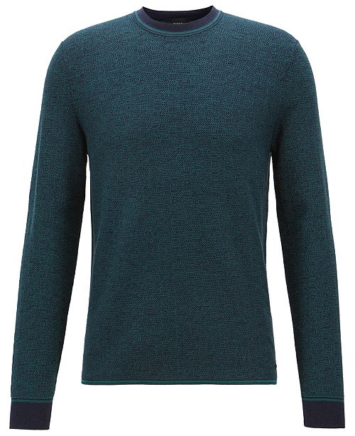 Hugo Boss BOSS Men's Micro-Structured Sweater