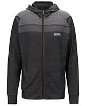 9b7bf277d12 BOSS Men's Sarrotech Full-Zip Sweatshirt