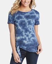 7f7a2794890 Karen Kane Tie-Dye Asymmetric T-Shirt