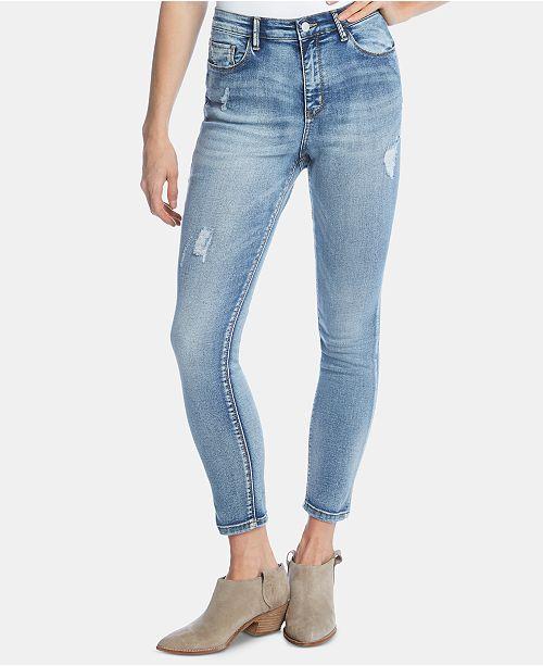 Karen Kane Ripped Skinny Jeans