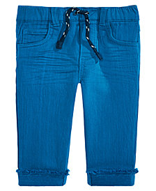 First Impressions Baby Boys Raw-Hem Cuffed Jeans, Created for Macy's
