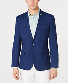 Men's Stretch Slim-Fit Textured Sport Coat