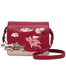 Radley London If Pigs Could Fly Leather Crossbody