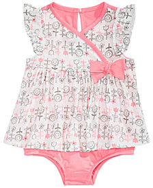 First Impressions Baby Girls Floral-Print Sunsuit, Created for Macy's