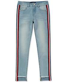 Tommy Hilfiger Little Girls Skinny-Fit Step Up Jeans