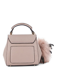 Céline Dion Collection Leather-Like Scale Handle Bag