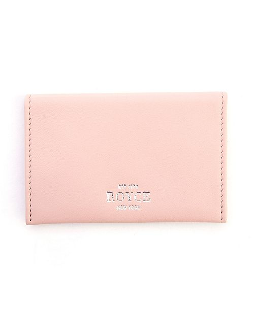 EMPORIUM LEATHER CO Royce New York Envelope Credit Card Case